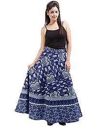 Jaipur Skirt Women's Cotton Wrap Skirt - B01F5OKEHO
