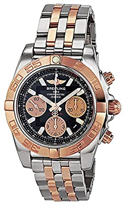 Breitling CB014012-BA53 Chronomat 41 Mens Watch - Black Dial