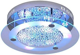Possini Euro LED Light Show Floating Jewels Ceiling Fixture