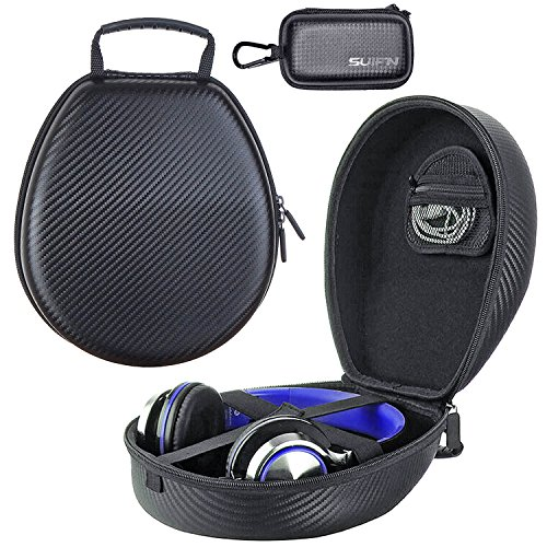 JHGJ Headphones Case for Sennheiser PC310/PC320/PC330/PC363D/PMX60/PXC-450/HD 800/U320/PC350, HD202 HD212 HD212-Pro HD497 EH150 EH250 HD62-TV Microsoft Lifechat LX-3000 Headphones (Pxc 450 Replacement compare prices)