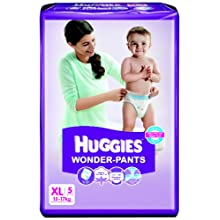 Huggies Wonder Pants Extra Large Size Diapers (5 Count)