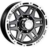 "Ion Alloy 133 Black Beadlock Wheel (16x10""/5x114.3mm)"