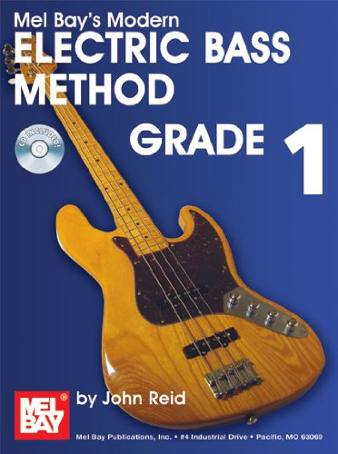 Mel Bay Presents Modern Electric Bass Method Grade 1 (Modern Method)