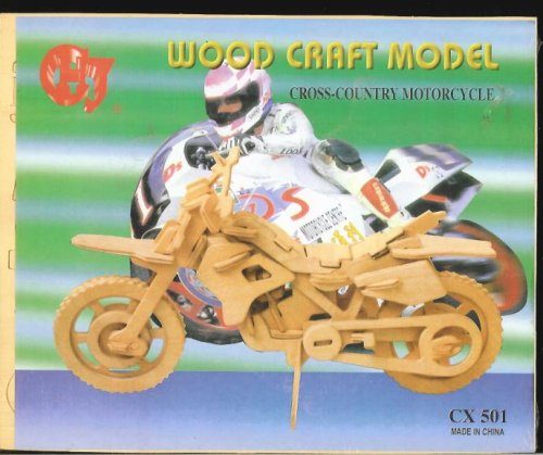 Cross Country Motorcycle Wood Craft Model - Buy Cross Country Motorcycle Wood Craft Model - Purchase Cross Country Motorcycle Wood Craft Model (CHJ, Toys & Games,Categories,Arts & Crafts,Craft Kits,Wood)