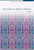 Contemporary Abstract Algebra. (0618514716) by Gallian, Joseph A.