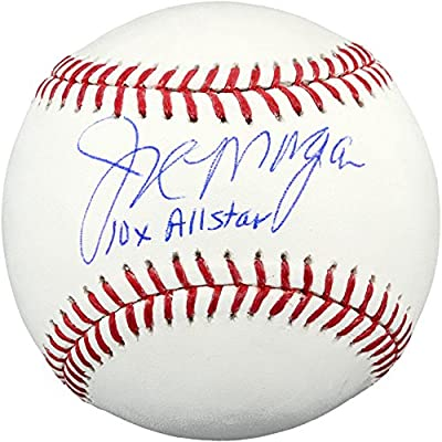 Joe Morgan Cincinnati Reds Autographed MLB Baseball with 10x All Star Inscription - Fanatics Authentic Certified