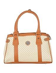 Dario LBH-010 Women's Handbag (LBH-010, White & Light)