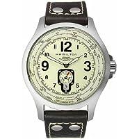 Hamilton Men's Khaki Aviation QNE Automatic Strap Watch (H76515523)
