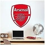 アーセナルFC クラブエンブレム 防水紙シール~英プレミアリーグ ウォールステッカー 貼って 剥がせる 壁紙