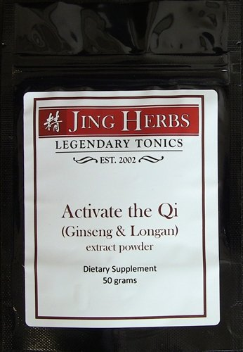 Jing Herbs Activate The Qi Powder 50 Grams