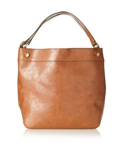 London Fog Women's Parker Hobo, Cognac As You See