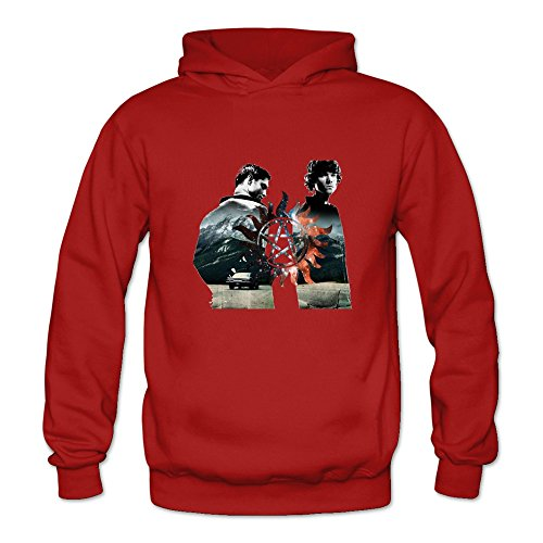 Crystal Men's Supernatural Dean Sam Winchester Long Sleeve Jacket Red US Size XXL (Sam And Dean Winchester Jacket compare prices)