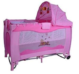 3en1 lit b b de voyage pliant parapluie enfant lit parc. Black Bedroom Furniture Sets. Home Design Ideas