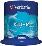 Verbatim 43411 52x 700MB CD-R Rohlinge 100er Spindel