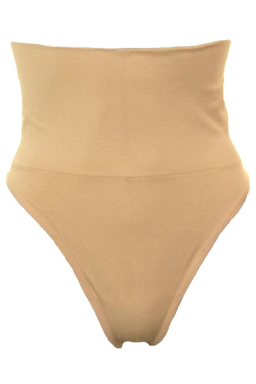 (6439-3) Nahtlose hohe Taillen abnehmensteuer Thong weist Nude bestellen