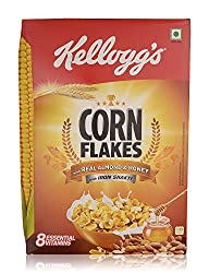 Kellogg's Corn Flakes - with Real Almond and Honey, 300g Box