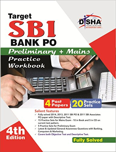 Target SBI Bank Preliminary & Main PO Exam 20 Practice Sets Workbook with SYNC-ABLE CD