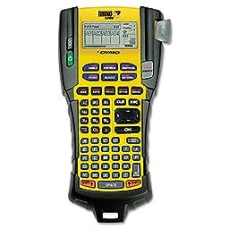 DYMO 1755749 Rhino 5200 Industrial Label Maker, 5 Lines, 6-1/10w x 11-2/9d x 3-1/2h