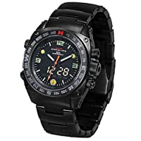 [MTMスペシャルオプス]MTM SPECIAL OPS 腕時計 サイレンサー  SILENCER  ブラックサイレンサー MTM-991B メンズ [正規輸入品]