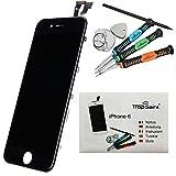 """Trop Saint® Kit di Riparazione Vetro LCD Display Retina Schermo Per APPLE iPhone 6 (4.7)"""" NERO Ricambio OEM"""