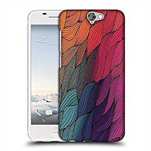 Snoogg vector abstract hand drawn waves texture Designer Protective Back Case Cover For Asus Zenfone 6