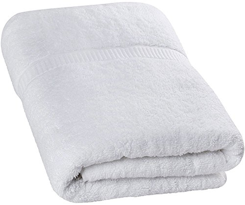 Luxury Bath Sheet Towel (White; 35 x 70 Inch) Cotton Extra Large Beach Bath Towels, Machine Washable, Hotel Quality, Super Soft and Highly Absorbent Towels By Utopia Towels (Extra Large Bath Sheets compare prices)