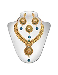 Niki Jewels Alloy Necklace Set For Women (Multicolour) (010 156 Y-1)