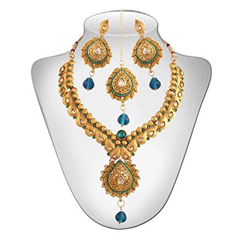 Niki Jewels Alloy Necklace Set For Women (Multicolour) (010 156 Y-1)