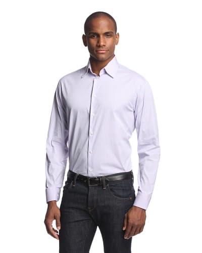 Armani Collezioni Men's Check Plaid Shirt
