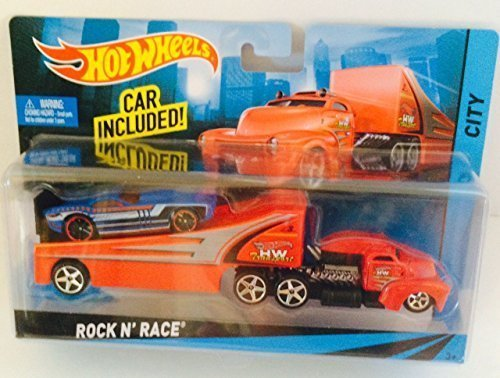 Hot Wheels Rock N' Race HW City 1:64 Scale (Hot Wheels Semi Truck compare prices)