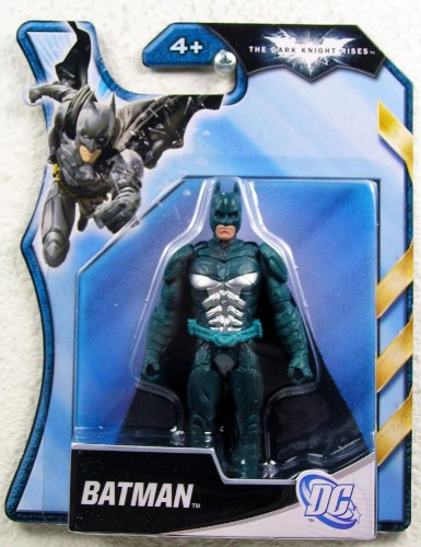 Batman Dark Knight Rises 4 Inch Action Figure Blue Armor Batman