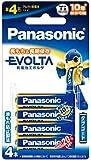 パナソニック EVOLTA 単4形アルカリ乾電池 4本パック LR03EJ/4B