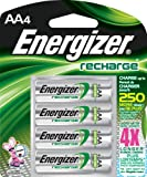 Energizer NH15BP-4 Rechargeable  AA Battery 4 Pack
