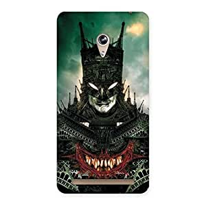 Knight City Multicolor Back Case Cover for Zenfone 6