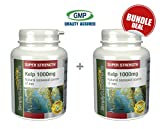 Simply Supplements Kelp 1000mg Bundle Deal 240 Capsules in total from Simply Supplements