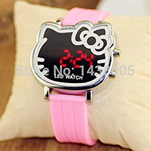 Strap Led Cartoon Watch Relogio Infantil Wq091: Sports & Outdoors