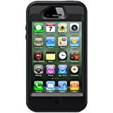 OtterBox Defender Series iPhone 4/4S Case and Holster, Frustration-Free Packaging, Black
