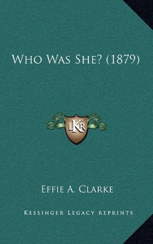 Who Was She? (1879)