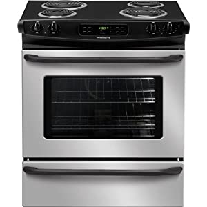 Frigidaire FFES3015LS 30 Slide-In Electric Range - Stainless Steel