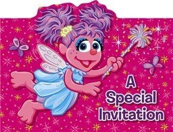 Abby Cadabby Invitations 8ct