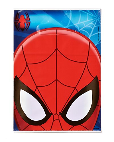 Spider-Man Treat Bags, Pack of 8, Party Supplies