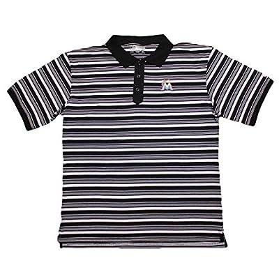 BIG & TALL Mens MLB Miami Marlins Baseball Athletic Short Sleeve Polo Shirt