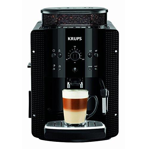 KRUPS EA8108 Kaffeevollautomat (1,8 l, 15 bar, CappuccinoPlus-Düse) schwarz thumbnail