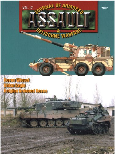 "Concord Publications Assault Journal #17 - Recon Wiesel, ""Uhlan Eagle"" and Belgian Armored Recce"