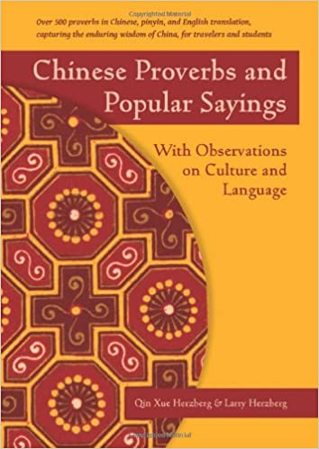 chinese proverbs Book Cover