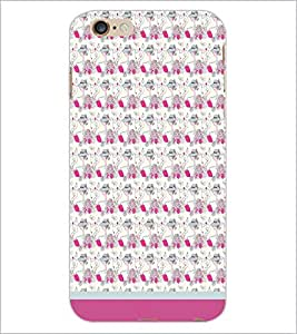 PrintDhaba Pattern D-1666 Back Case Cover for APPLE IPHONE 6S PLUS (Multi-Coloured)
