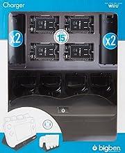 Wii U - 4 + 1 Charger Black (Ladestation) [Importación Alemana]