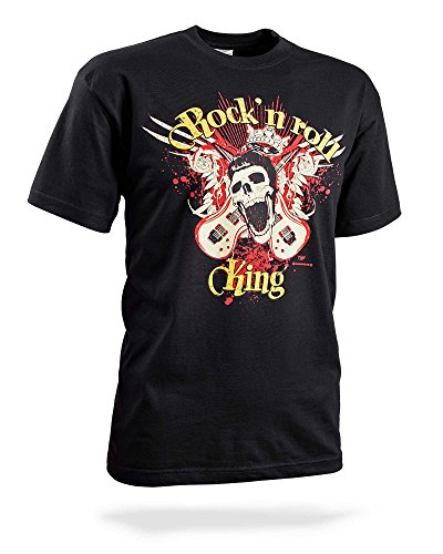 T-Shirt-Rockn-roll-King