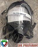 1-neue-Zivilisten-Full-Face-wiederverwendbar-Gas-Mask-Atemschutzmaske-mit-40-mm-1-neue-Filter-echtem-Scott-Sicherheit-versiegelt-Pro-2000-PF10-Filter-Verfallsdatum-2025-nicht-ein-Spielzeug