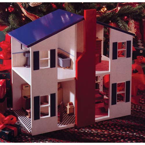 Open House Doll House: Downloadable Woodworking Plan